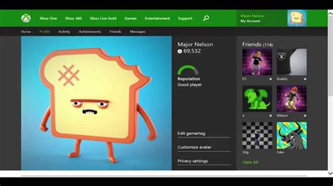 xbox one profile coming to xbox one profile coming to xbox