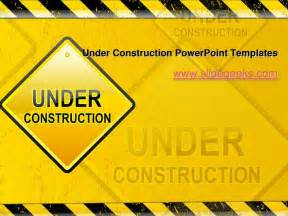 under construction power point templates