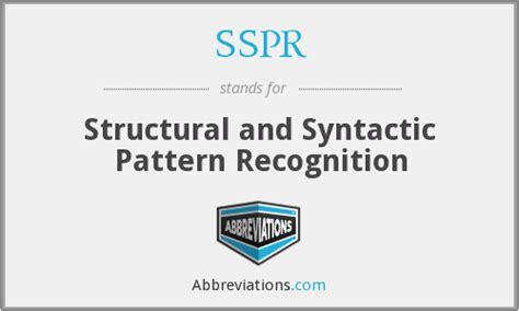 pattern recognition means in urdu sspr structural and syntactic pattern recognition