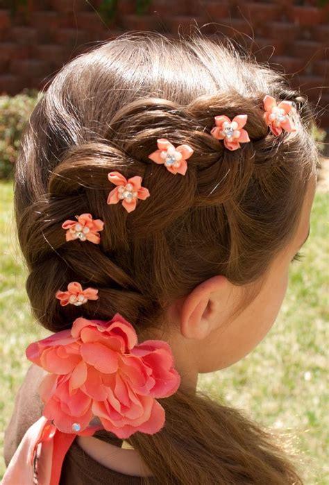 flower girl braided hairstyles for weddings dutch flower braid perfect for flower girl hair ideas
