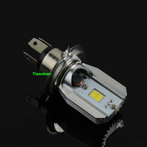 ultra bright 800lm 6w 2 hi lo h4 led motor lights