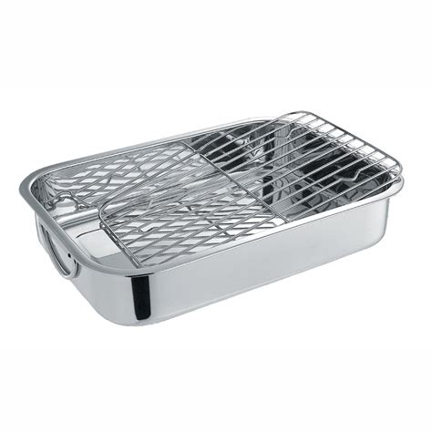 Pan With Rack by Cuisinox Pan Rectangular Roaster With Rack Lowe S Canada