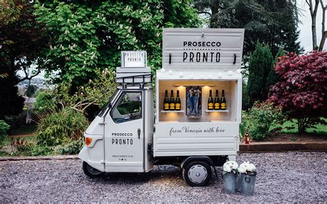 mobile drinks bar 15 most adorable prosecco vans in the uk