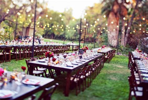 Garden Wedding Reception Ideas Simple Simple Outdoor Wedding