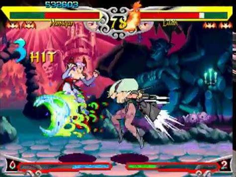 Fighting Game Bosses 142. Vampire Savior - Morrigan vs ... Lilith's World Game