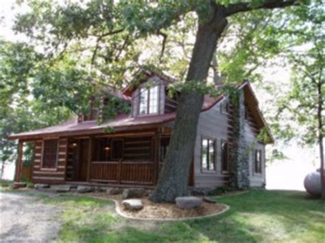 Log Cabin Rentals Nj by Mille Lacs Rustic Cabin Lakeplace