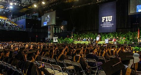Fiu Corporate Mba Diploma by Commencement Marks Achievement Of College Of Business