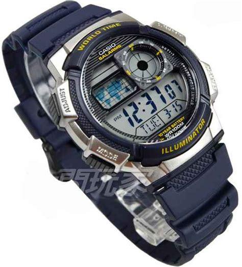 Jam Tangan Pria Original Casio Ae 1100w 1bv casio jam tangan ae 1000w 1bvdf hitam silver lazada jam