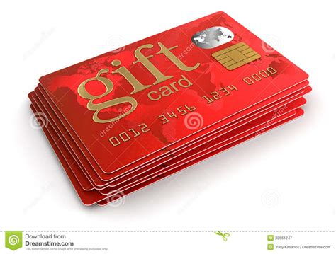 Free Gifts With Credit Cards - gift credit cards clipping path included royalty free stock photography image