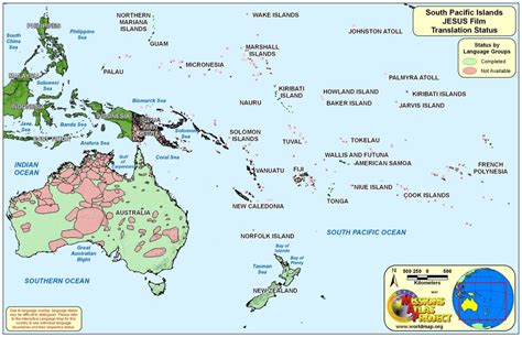 map islands south pacific islands worldmap org