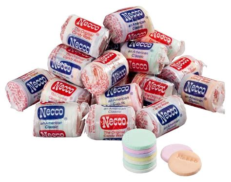 Tassins Unique Necco Wafers by These Are The Most Hated Candies