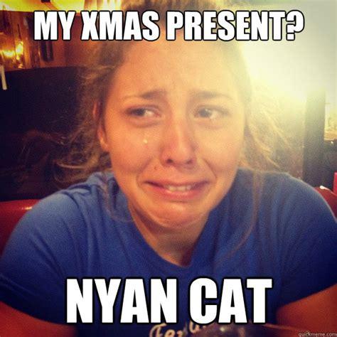 Annoying Cat Meme - my xmas present nyan cat misc quickmeme