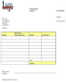 maintenance invoice template free maintenance invoice template helloalive