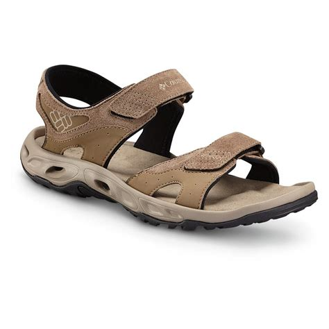 columbia sandals columbia ventero leather sandals flax 621020 sandals