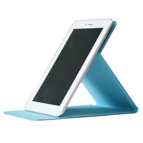 stand leather for ainol novo 7 numy ax1 baby blue