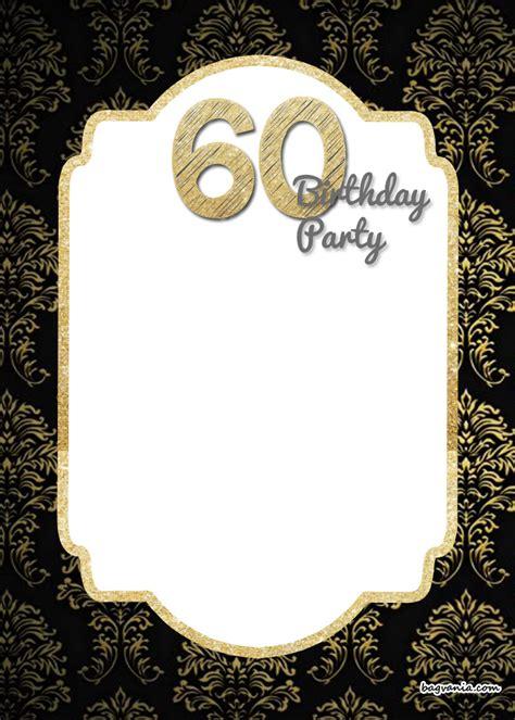 printable elegant  birthday invitation template  printable birthday invitation