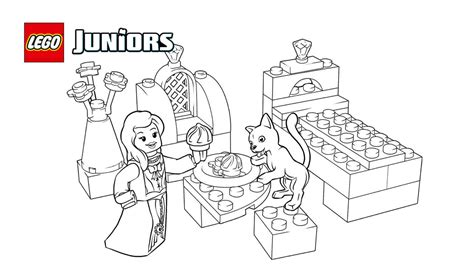 lego kitty coloring pages lego 174 juniors royal kitten coloring page coloring pages