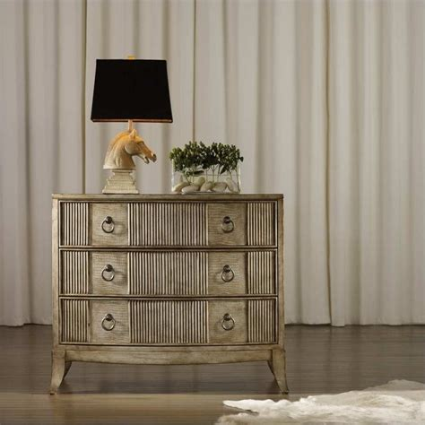 pulaski 4 drawer accent chest in blossom finish