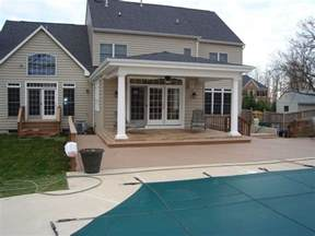 covered porch pictures covered porch extension back porch pinterest room