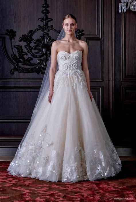monique lhuillier bridal monique lhuillier wedding dresses spring 2016 13