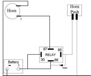 car horn relay wiring diagram get free image about wiring diagram