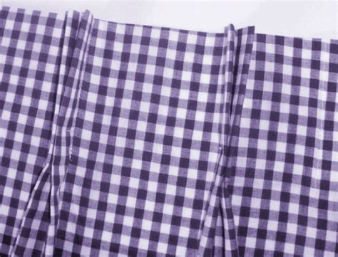 purple gingham curtains purple and white gingham check pinch pleat cafe curtains