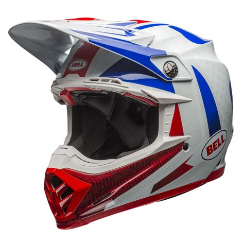 Helm Bell bell helm moto 9 carbon flex vice blau rot 2018 maciag offroad