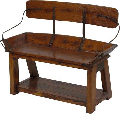 buckboard bench open back 41 quot vintagewinter