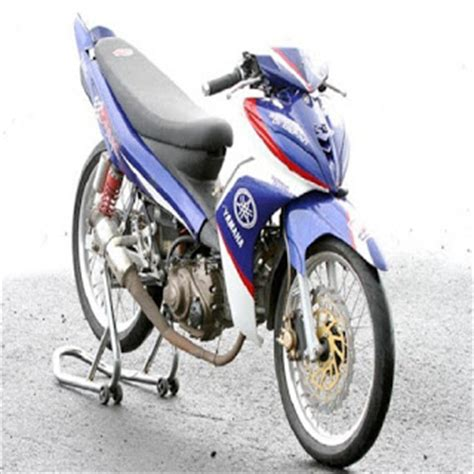 gambar modifikasi jupiter  racing ala thailook velg