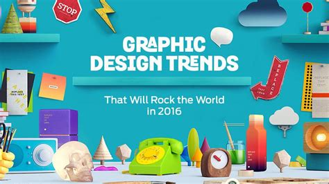 graphic design styles graphic design trends that will rock the world in 2016