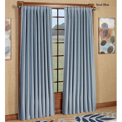 Glasgow back tab curtain panels