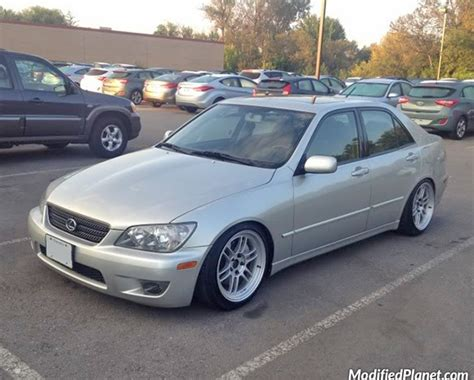 modified lexus is300 2003 lexus is300 with 17 quot enkei rpf1 wheels