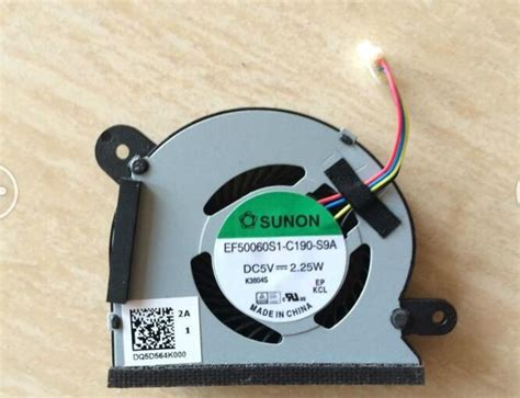 Spare Part Kipas Laptop fan processor asus x200ca x200m x200ca x200a x200ma dq5d564k000 4 pin tittle