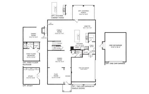 nv homes floor plans willowsford virginia