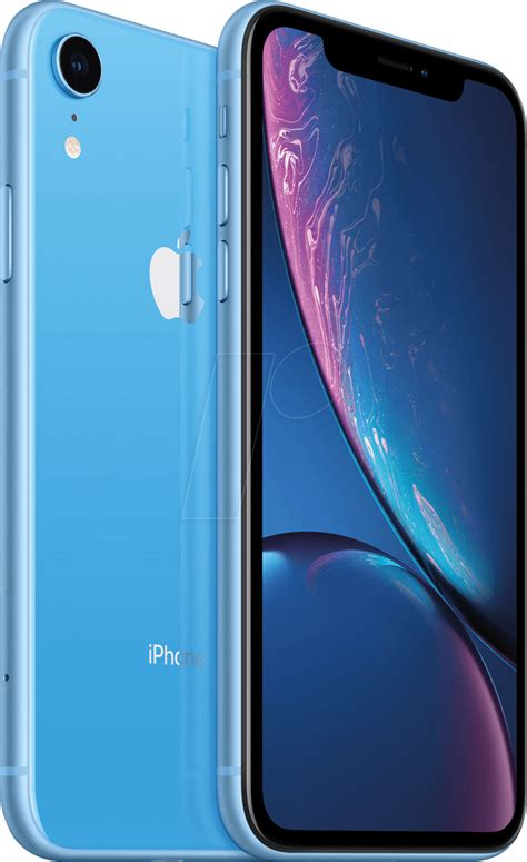 iphone xr 128bl smartphone 15 50 cm 6 1 display 128gb blau bei reichelt elektronik