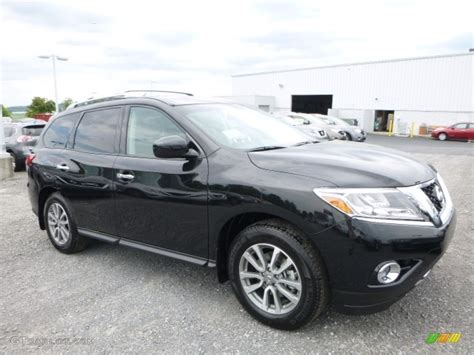 nissan pathfinder 2016 black 2016 magnetic black nissan pathfinder sv 4x4 114109849
