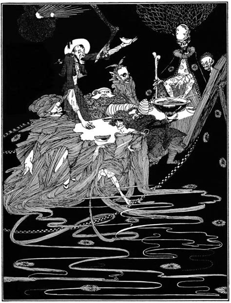 Harry Clarke's Illustrations for Poe's Tales of Mystery