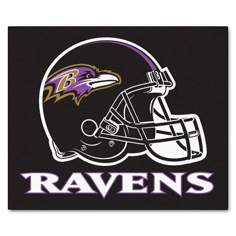baltimore ravens rug fanmats baltimore ravens 5 ft x 6 ft tailgater rug 5678 the home depot