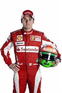 F1 Driver Giancarlo Fisichella G A Formula 1