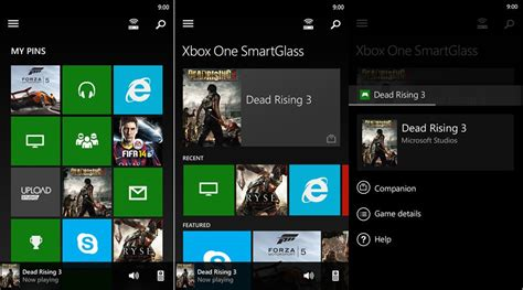 xbox one smartglass apk microsoft updates xbox one smartglass with new social features ability to record
