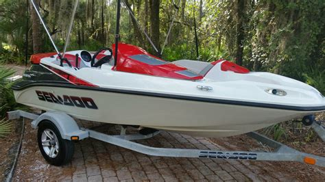 sea doo boat 215 hp sea doo speedster 150 2007 for sale for 1 boats from