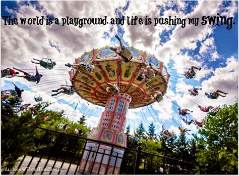 swing quotes playground quotes on swings playground quotesgram