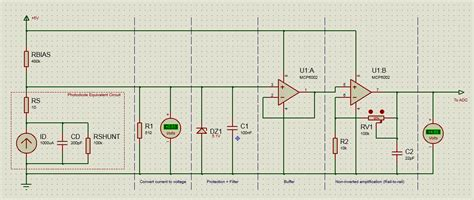 op photodiode to arduino interface for high measurement electrical engineering stack