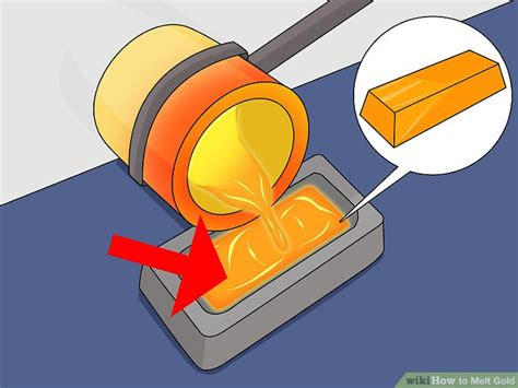 melt gold to make new jewelry 3 ways to melt gold wikihow