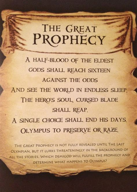 prophecy s the endarian prophecy books 30 day percy jackson challenge on percy