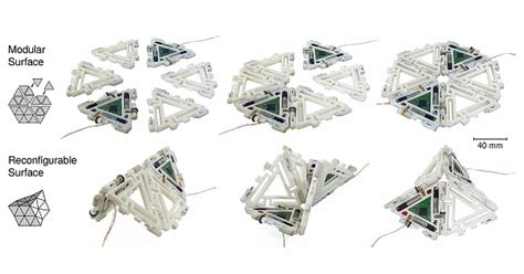 Robot Origami - reconfigurable robot merges origami modular approaches