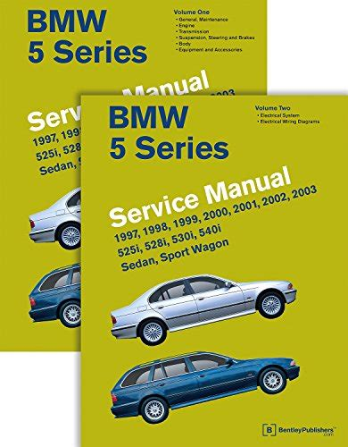 vehicle repair manual 2003 bmw 5 series parking system bmw 5 series e39 service manual 1997 1998 1999 2000 2001 2002 2003 2 volume set media