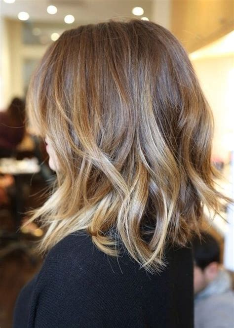 how to do an ombre with medium length hair ombr 233 for shoulder length hair hair pinterest