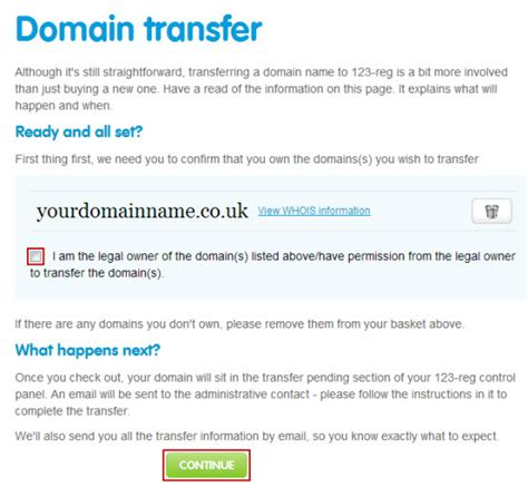 Transfer Of Ownership Letter Uk How Do I Transfer My Domain Name To 123 Reg From A 3rd 123 Reg