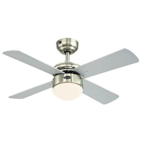 Westinghouse Ceiling Fan Light Westinghouse Ceiling Fan Colosseum Brushed Nickel Including Dimmable Led Light And Remote